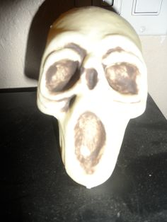 This was part of a gift from a Secret Reaper 2 years ago. It is now with my skull collection