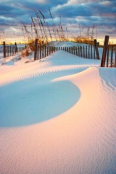 White Sand Sunset