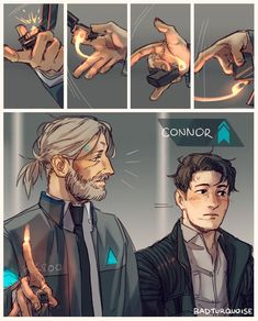 HANKCON STUFF FROM IMAGE 5 AND ONWARDS please PLEASE dont look at it if you dont like the pairing thank you!! im usually not too strict on this butALSO DONT REPOST MY BLATANTLY HANKCON STUFF THANKS!! (first one is only very vaguely hankcon so i left it there im sorry) - last two images are the edits ive done lmaOoOo i just want this au sm ok - heres buncha more stuff mostly reverse au nonsense except for the 4th pic dhsndh (which i drew when i had like 3 hours of sleep ok dont punch me) i… Luther, Fanart, Naruto, Bryan Dechart, Detroit Become Human Connor, Becoming Human, Wattpad, Obsessed Girlfriend, Human Art