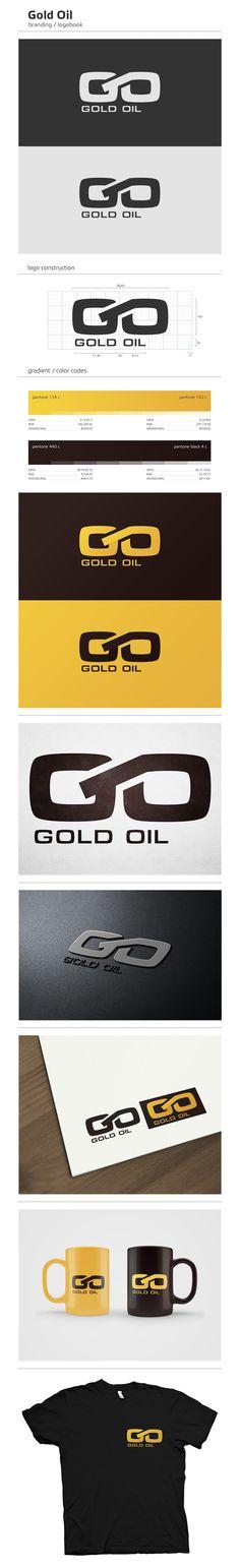 Gold Oil by Bah (via Creattica)