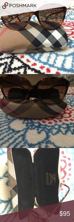 Burberry sunglasses Burberry classic cat eye brown sunglasses. Comes with original hard case. Burberry Accessories Sunglasses