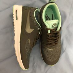 new arrival 1c360 cdce6 Nike Shoes   Nike Airmax Thea   Color  Green   Size  6 Air Max