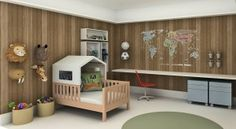 Nós adoramos fazer quarto infantil!