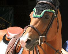 Horse Fly Bonnet Crochet PATTERN and Photo Tutorial by popelkaLida