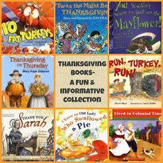 Thanksgiving Book Ideas Galore