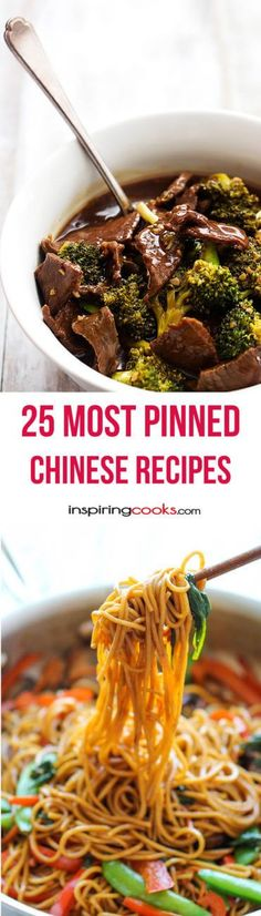 25 Most Pinned Chinese Recipes | Inspiring Cooks.com