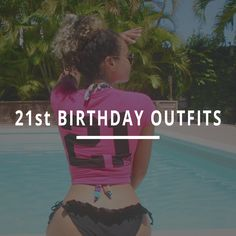 21st Birthday Outfits, Hot Outfits, Bikinis, Swimwear, How To Memorize Things, Fun, Fashion, Bathing Suits, Moda
