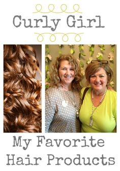 Sharing my Curly Girl Hair Products! All my favorite products for styling curly hair.