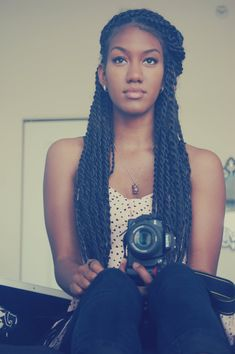 Senegalese Twists With Marley Hair | twists senegalese twists natural natural hair hairstyle