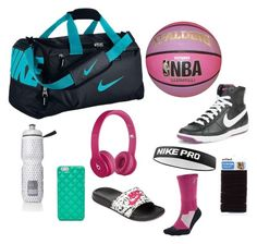 """Basketball bag ideas"" by sbruns on Polyvore"