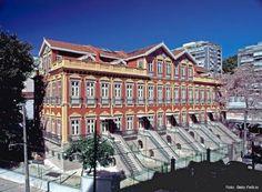 Casas Casadas em Laranjeiras - Primeiro prédio de apartamentos no Rio