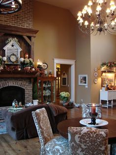 Brunt Almond-- Behr Paint-----An Autumn Housewarming….. | Sugar Pie Farmhouse