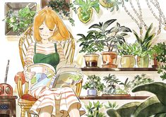 Art And Illustration, Watercolor Illustration, Kunst Inspo, Art Inspo, Pretty Art, Cute Art, Anime Sketch, Anime Art Girl, Aesthetic Anime