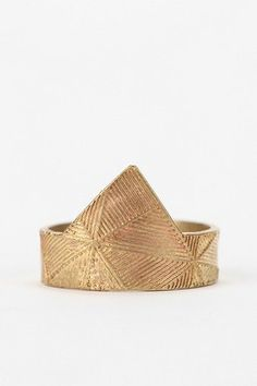 Etched Midi Ring