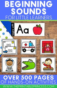 These beginning sound cards are a great addition to your literacy centers! They can also be used during small groups! Students will love sorting the sounds and mastering their skills. The cards are easy to download and print. Just laminate and add them to your balanced literacy block and enjoy!