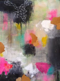 Abstract 4 by Lisa Congdon.