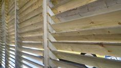 how to construct a louvered panel fence - Google Search