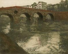 Veronabroen, Frits Thaulow