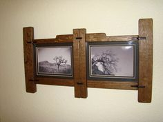 Frame2418 Craftsman Frames, Craftsman Style, Wood Projects, Woodworking Projects, Homemade Frames, Photo Ledge, Frame Store, Arts And Crafts Furniture, Rustic Frames