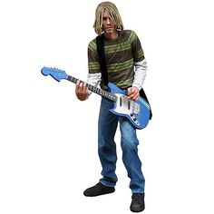There are 2 different Cobain Figures.. But I Only Have This One In My Collection.