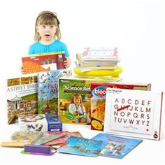Complete Homeschool Curriculum PreK - I noticed 3 Usborne Books in this package.