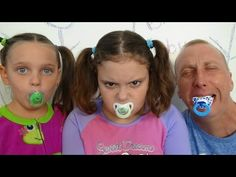 Bad Baby Real Food Fight Victoria vs Annabelle McDonald's Hidden Eggs Toy Freaks Family - YouTube