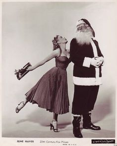 Vintage Hollywood Christmas - June Haver