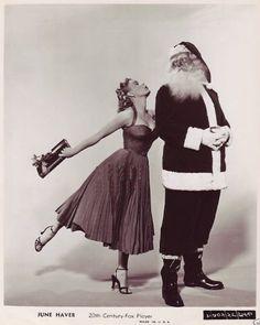 Vintage Hollywood Christmas - June Haver
