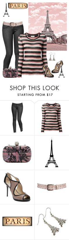 """""""Paris"""" by smith-1979 ❤ liked on Polyvore featuring Old Navy, Étoile Isabel Marant, Alexander McQueen, Dot & Bo, Jimmy Choo and Aventura"""
