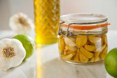 roasted garlic infused olive oil