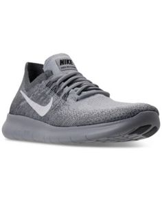 39bef26f687d8 Nike Women s Free Run Flyknit 2017 Running Sneakers from Finish Line -  Black 8.5 Nike Free