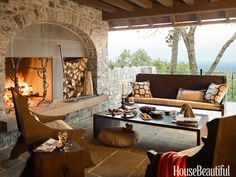 Outdoor Fireplaces | A Flippen Life