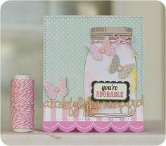cute jar card