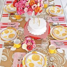 In Good Taste: Pencil and Paper Co. - Design Chic #Flowers #HomeDecorators #TableTop