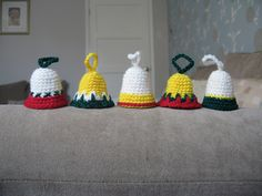 Ravelry: Holiday Bells for Christmas pattern by Sally V. George