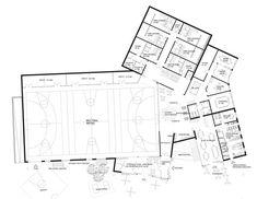 The New Urban School, Mixed Use Sports Complex Proposal / EFFEKT + Rubow,plan