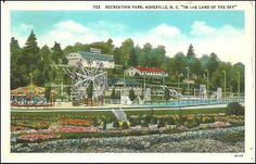 Asheville Amusement Park 1926   Flickr - Photo Sharing!