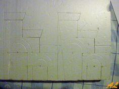 Tutorial de una fuente historiada – Nacimiento en Belén Coolpix, Texture, Pinwheel Tutorial, Fonts, Nativity Scenes, Crates, Projects, Birth, Sketch