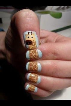Novelty giraffe nails | Women's Look | ASOS Fashion Finder