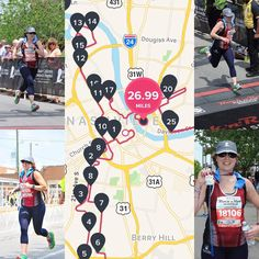 I know you guys have been waiting for this post. Here are #racepics from #rnrnashville  this past weekend #marathon #26point2miles #finishstrong #run #runningfriends the #race was black flagged because of the heat shorty behind me. Very happy I was able to finish this tough race #hills & #heat make for a hard race! The key to this race was #strategy #hydration #fuel I want to give a big #thankyou to the #volunteers & #nashville community as well as #anytimefitness #members at #home as always…