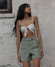 Moda Instagram, Summer Wardrobe, Look, What To Wear, Short Dresses, Casual Outfits, Camisole Top, Rompers, Street Style