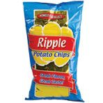 Home Style Select Ripple Potato Chips, 6 oz.