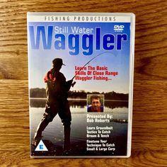 Still Water Waggler DVD Bob Roberts Catch Bream Tench Carp fishing basic skills Fishing Books, Fishing Kit, Carp Fishing, Dvds For Sale, Starter Kit, Be Still, Bob, Baseball Cards, Learning