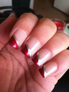Roll Tide - Alabama Crimson Tide BSC Championship French Mani