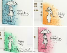 Quick and fun card collection using Beautiful You from Stampin' Up!
