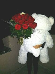 You would always like to make valentine day a special day of your life. Thus, you need to order flowers for valentine's day online. Cute Relationship Goals, Cute Relationships, Cute Birthday Wishes, Mode Poster, Cadeau Surprise, Teddy Girl, Photographie Portrait Inspiration, Teddy Bear Gifts, Teddy Bear Pictures