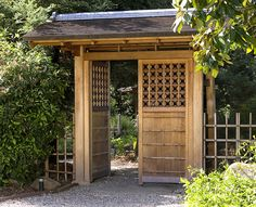 See elegant traditional Japanese entrance gates (mon), garden gates, and simpler…