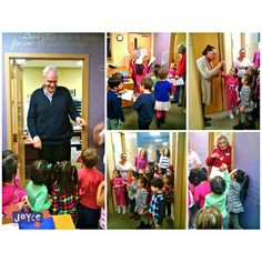 A few weeks ago, Teacher Carol's class went on a mini field trip to meet the staff and pastors of Park Avenue Church — they got quite the tour!