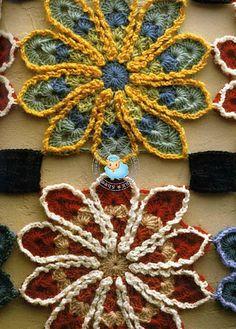 crochet drink coasters :)