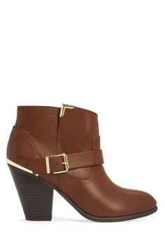 Pemberley - JustFab...paired with tights and a cute sweater dress, this boot will make a great addition to a Thanksgiving dinner outfit!